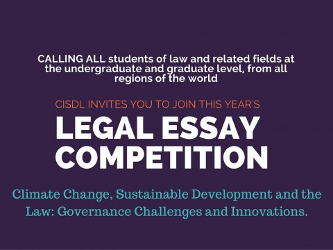 legal essay competitions 2009 Global health law essay competition 2009 entries must be at o'neill institute for national and global health law open forum blog.